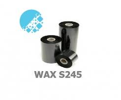 Mực in mã vạch wax S245